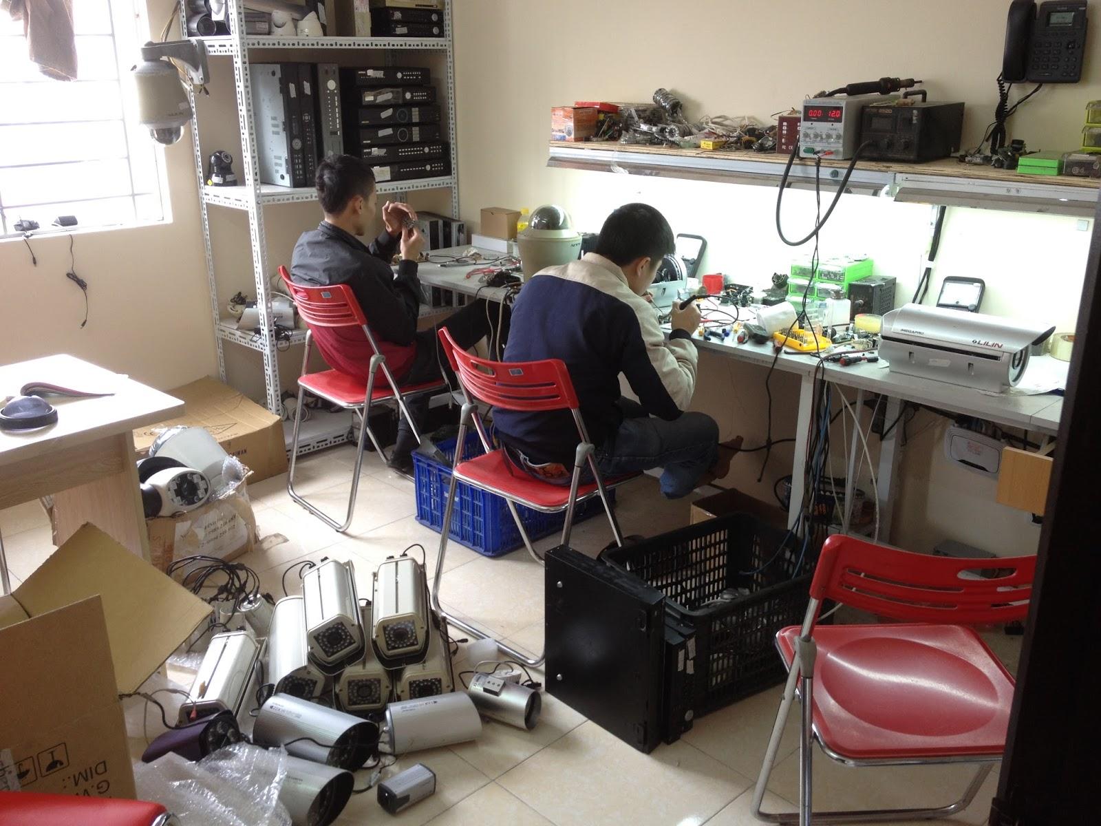 Sửa chữa camera quan sát giá rẻ tại Bình Dương